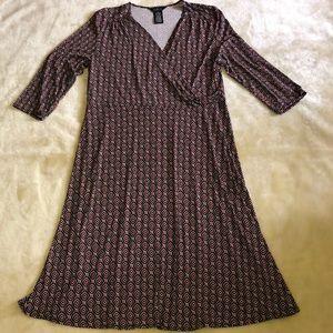 George Printed Dress
